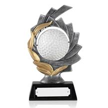Spinning Resin Golf Ball Award - 5.5inch - GX016A