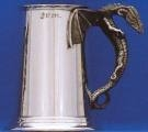 Dragon Handle - Heavy Gauge Pewter Tankard