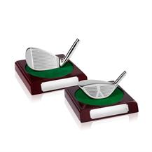 Silvertone Finish Golf Clubs with Ball - Nearest to the pin and Longest Drive - JG006 and JG007