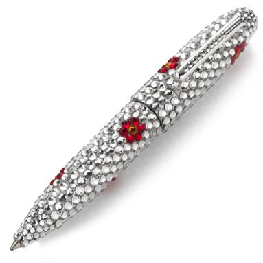Crystallized Swarovski Pens - Flower - EGP4410