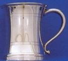 Concave - Pewter Tankard