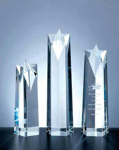 Star Obelisk Award - Small, Large and Medium - C-367