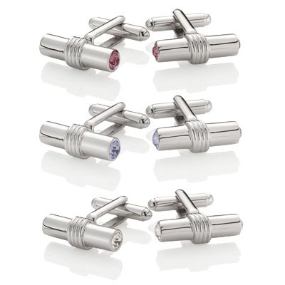 T-BAR - Swarovski Cufflinks