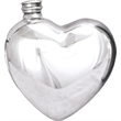 Pewter Heart Flask
