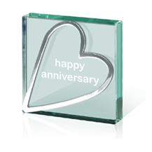 Happy Anniversary Paperweight Tokens - Generic