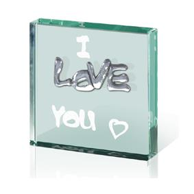 I Love You -  Paperweight Token