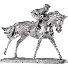 Sterling Silver 'Horse and Jockey - Racing' Trophy