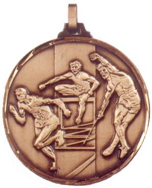 Faceted Decathlon Medal