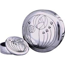 Charles Rennie Mackintosh Trinket Box: Style 1 - Circular