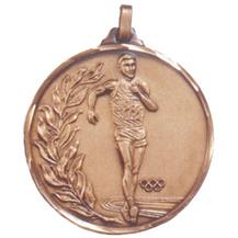 Faceted Walking Medal