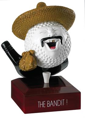 A Cute and Funny Golf Trophy