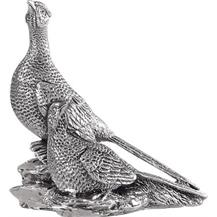 Sterling Silver 'Pair of Pheasants' Trophy