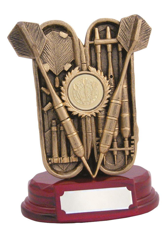 Resin Darts Case Trophy