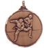Faceted Martial Arts Medal