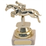 Marble Plastic Jumping Horse Trophy thumbnail
