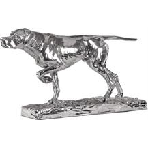Sterling Silver 'Hunting Dog' Trophy