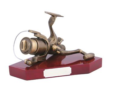 Resin Angling Reel Trophy