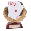 Beautiful Resin Cards Trophy