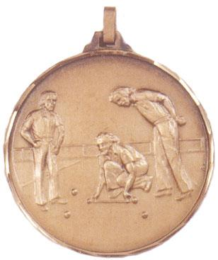 Faceted Bowls Medal