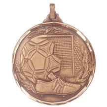 Faceted Football Medal