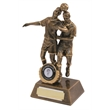 Superb Resin Double Male Football Trophy