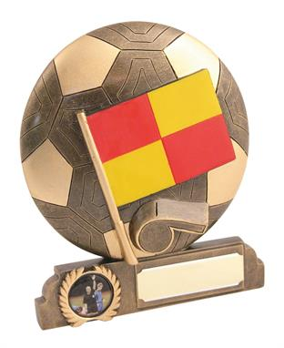 Beautiful Resin Football Linesman Trophy