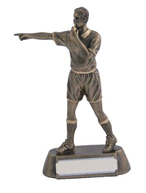 Classic Resin Football Referee Trophy