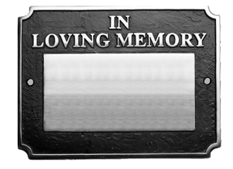 Memorial Wall Plaque