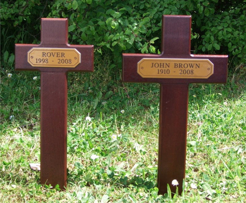 Wooden Mahogany Crosses