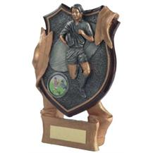 Resin Rugby Shield