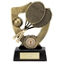 Resin Tennis Trophy with Backplate