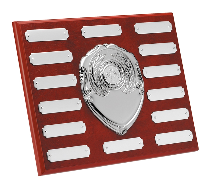 Perpetual Plaque Annual Shield