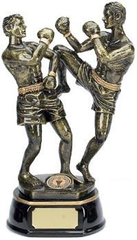 Resin Thai Boxing Trophy