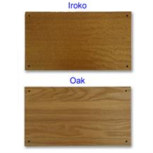 Iroko and Oak
