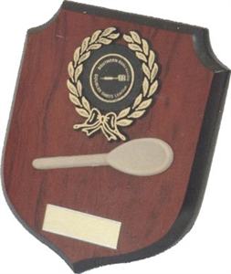 Shield and Wooden Spoon