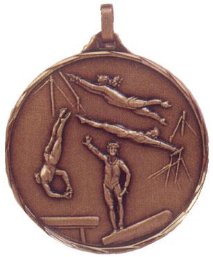 Faceted Gymnastics Medal