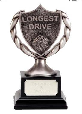 Longest Drive Club Shield Golf Award