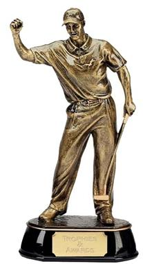 Celebration Golfer Golf Trophy