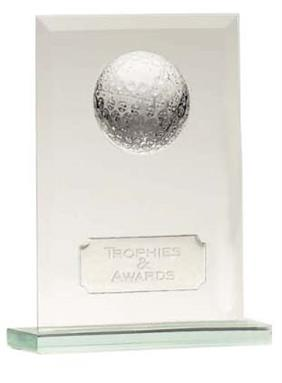 Jade Crystal Golf Honour Trophy