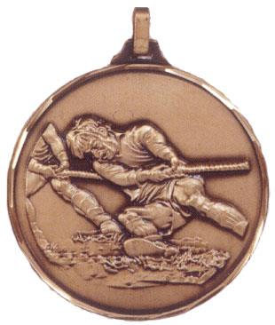 Faceted Tug of War Medal