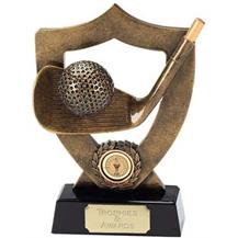 Shield Golf Trophy
