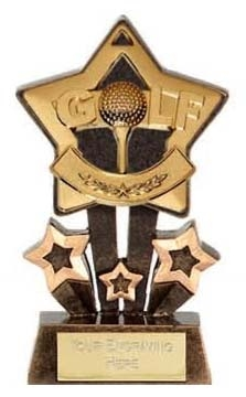 Mini Star Golf Trophy