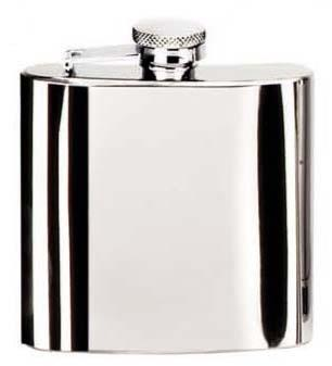Stainless Steel Churchill Hip Flask
