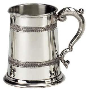 Celtic Embossed Tankard