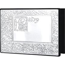 Pewter Baby Photo Album - Baby