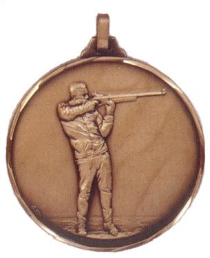 Faceted Shooting Medal