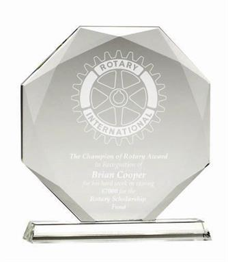Diamond Optical Crystal Award