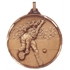Faceted Tennis Medal - Full Stretch