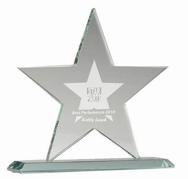 Star Jade Glass Award
