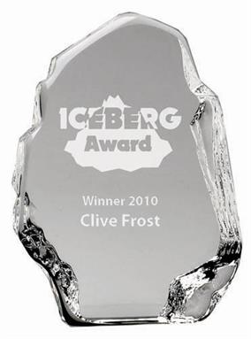 Iceberg Crystal Award